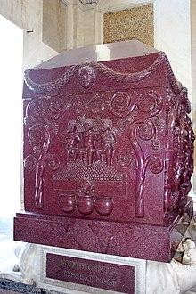 Sarcofago di Costantina, oggi conservato ai Musei Vaticani