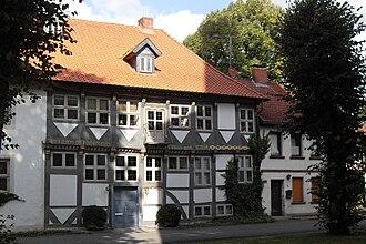 Schöppenstedt - Timber framed house in Schöppenstedt