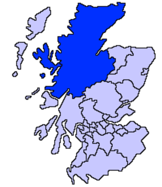 Caithness - Highland council area 1996 to present