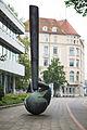 Sculpture Grosses Rufzeichen Fritz Koenig Schiffgraben Hanover Germany 03.jpg