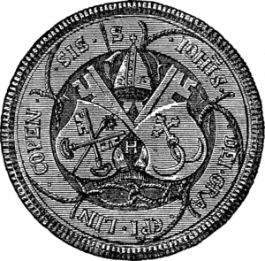 Hans Brask - Image: Seal of Bishop Brask