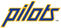 The wordmarks for the Seattle Pilots