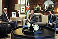 Secretary Kerry Meets With King Abdullah II, Crown Prince Hussein (11776652546).jpg