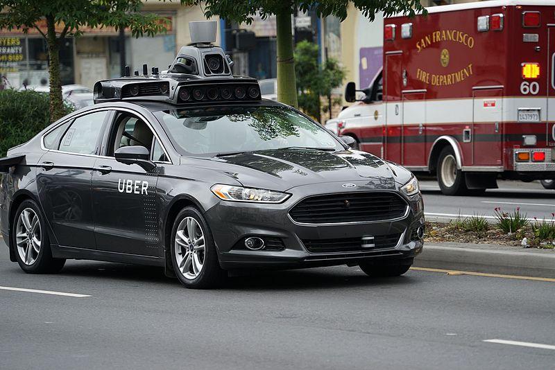 File:Self driving Uber prototype in San Francisco.jpg