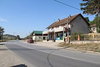 Slovac - Image: Selo Slovac opština Lajkovac zapadna Srbija panorama 1