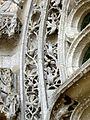 Serans (60), église Saint-Denis, portail, frise de l'archivolte 2.jpg