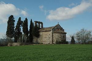 Sallent - Sant Miquel de Serra-sanç in Sallent, Bages.