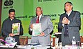 """Sharad Pawar releasing a book entitled """"Krishi Sutra"""", at the National Horticulture Conference on production, in New Delhi. The Minister of State for Agriculture and Food Processing Industries.jpg"""