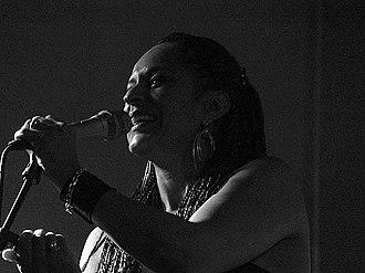 Sharon Dyall - Dyall performing in Denmark in 2017