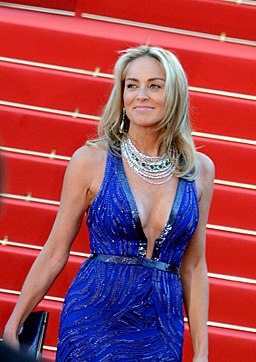 Sharon Stone Cannes 2013 2