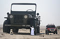 Sheikh Hamad bin Hamdan Al Nahyan with largest model Willys jeep 2009.jpg