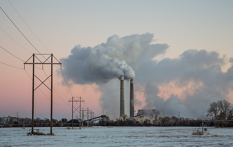 File:Sherco Generating Station - Xcel Energy Sherburne County Coal-Fired Power Plant - Sunset (24077210421).jpg