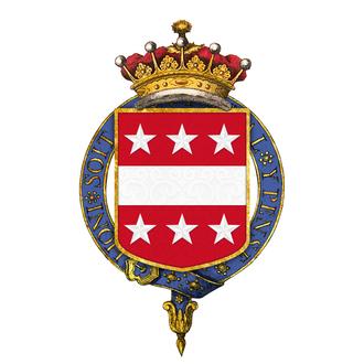 George Ashburnham, 3rd Earl of Ashburnham - Shield of arms of George Ashburnham, 3rd Earl of Ashburnham, KG, GCH, FSA