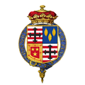 Shield of arms of George Sutherland-Leveson-Gower, 3rd Duke of Sutherland, KG, FRS.png