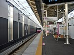 Shin-Keisei Shin-Kamagaya Station track No.1 201807 02.jpg