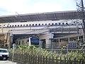 Shinkansen Shin-Yokohama station solid crossing railway lines 03.jpg