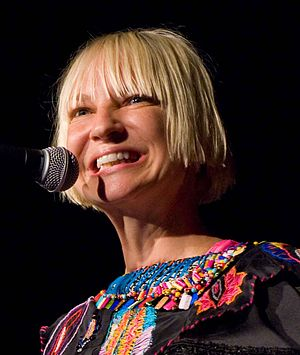 Sia (musician) - Sia performs on 17 August 2011 at the Showbox at the Market in Seattle, Washington
