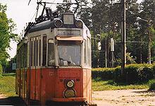 Tram in servizio tra Sibiu e Rășinari