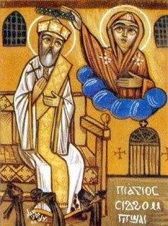 Sidhom Bishay 19th century Coptic martyr and saint