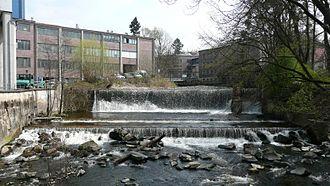 Sieber (river) - Image: Sieber Wehr Herzberg