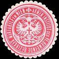 Siegelmarke Armen Institut des VI. Gemeinde Bezirkes Mariahilf in Wien W0317923.jpg
