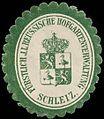 Siegelmarke Fürstlich J.L. Reussische Hofgartenverwaltung - Schleiz W0260368.jpg