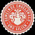Siegelmarke Gemeinde Engelswald und Lilien W0319844.jpg