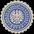 Siegelmarke K.Pr. Landrat des Kreises Zeven W0352208.jpg