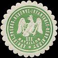 Siegelmarke K.Pr. Reserve-Infanterie-Regiment No. 237 - III. Bataillon W0348276.jpg
