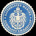 Siegelmarke Kaiserliche Marine - Kommando S.M.S. Gefion W0224508.jpg