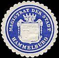 Siegelmarke Magistrat der Stadt Hammelburg W0235172.jpg