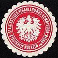Siegelmarke Staatssteuer - Veranlagungs - Kommission - Stadtkreis Mülheim am Rhein W0232447.jpg