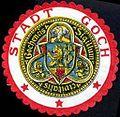 Siegelmarke Stadt Goch - Sigillum civitatis Gochencis W0227363.jpg