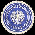 Siegelmarke Universitäts - Klinik für Augenkrankheiten - Berlin W0219444.jpg