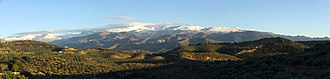 Sierra Nevada (Spain) - Image: Sierra Nevada Fargue