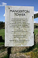 Sign Gilnockie Tower Armstrong Clan Association Mangerton.jpg