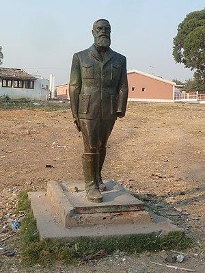 António da Silva Porto - Statue of Silva Porto in Kuito, Angola