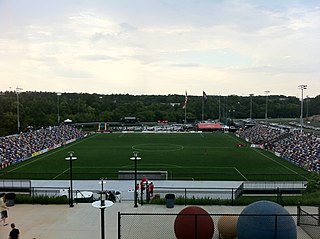 Atlanta Silverbacks Park stadium in Georgia, United States