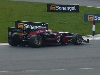 A.C. Milan (Superleague Formula team) - A.C. Milan car on track at Silverstone Circuit (2010)