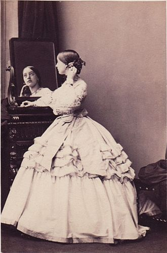 Henry Chaplin, 1st Viscount Chaplin - Lady Florence Paget by Camille Silvy