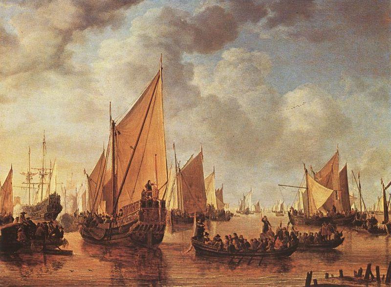 File:Simon de Vlieger - Visit of Frederick Hendriks II to Dordrecht in 1646 - WGA25260.jpg