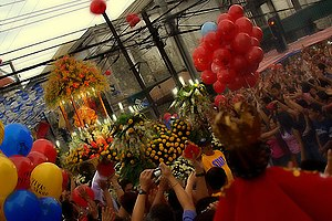 Sinulog - Procession