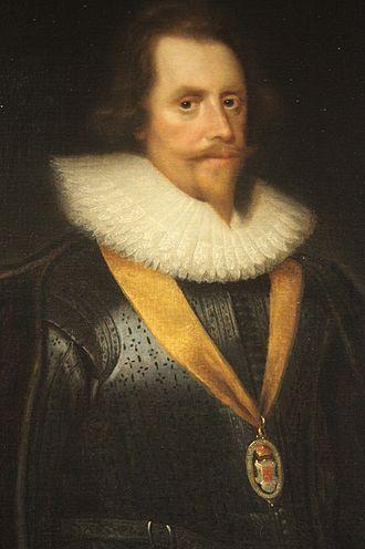 Sir Archibald Acheson, 1st Baronet - Sir Archibald Acheson by George Jamesone, 1631