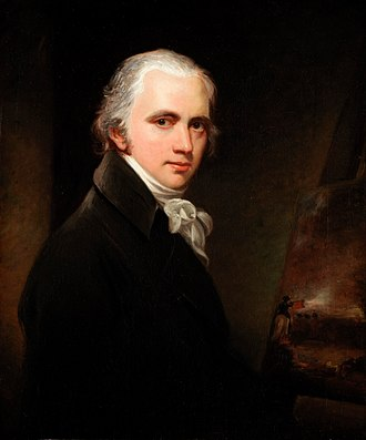 William Beechey - Sir William Beechey, self-portrait, ca.1800