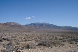 Site of Skidoo - Death Valley National Park
