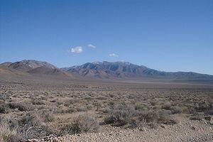 Skidoo, California - Site of Skidoo - Death Valley National Park
