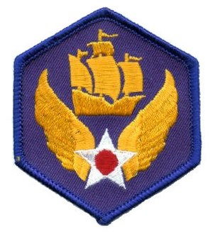 Numbered Air Force - Image: Sixth Air Force Emblem (World War II)