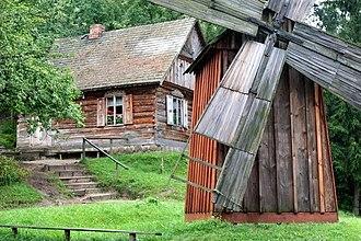 Nowogród - Image: Skansen Kurpiowski (Nitka 2007) 01