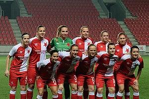 SK Slavia Praha (women) - Image: Slavia Praha women 2017