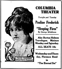 Sleeping Fires 1917 newspaper ad.jpg